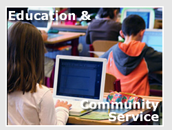 Education and Community Service