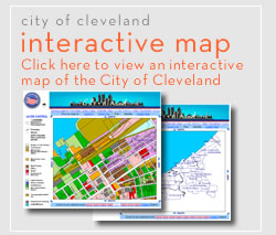 city of cleveland interactive map