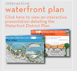 the waterfront district plan interactive